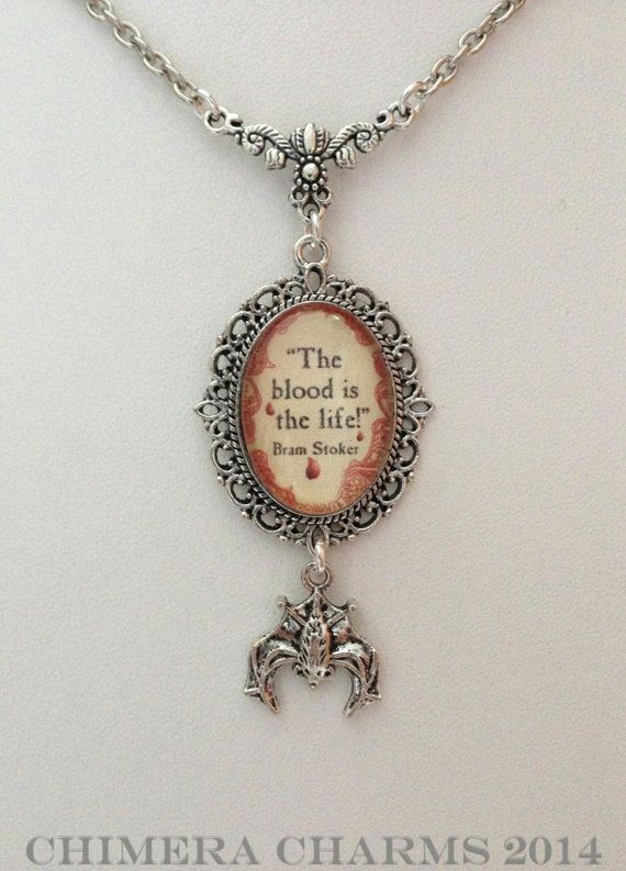 Bram Stoker Dracula Vampire Silver The Blood is by ChimeraCharms