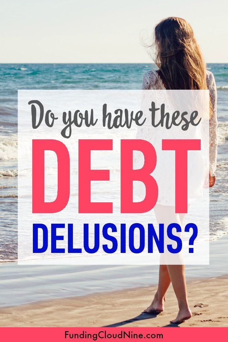 Are these debt delusions preventing you from becoming debt free? If you want to get out of debt, stop believing these debt lies, start budgeting, and get on a debt plan.