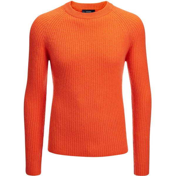 Joseph Cardigan Stitch Cashmere Sweater in TANGERINE (33.485 RUB) ❤ liked on Polyvore featuring men's fashion, men's clothing, men's sweaters, tangerine, mens chunky sweater, mens cashmere sweaters, mens cashmere cardigan sweater, mens ribbed sweater and mens cardigan sweaters