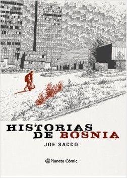 En HISTORIAS DE BOSNIA, el periodista e historietista Joe Sacco narra cómo vivió el final de la brutal Guerra de Bosnia. http://rabel.jcyl.es/cgi-bin/abnetopac?SUBC=BPBU&ACC=DOSEARCH&xsqf99=1837135