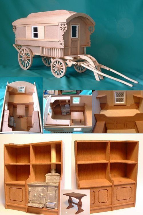 MQ075 - 1:12 Scale Caravan Kit - Minimum World - The Online Dolls House Superstore