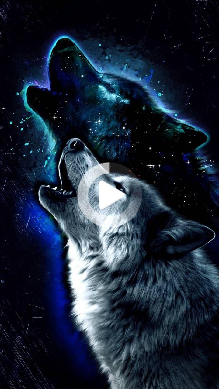 Wolf Wallpaper By Georgekev C6 Free On Zedge Anime Wolf Wolf Wallpaper Galaxy Wolf Wallpaper