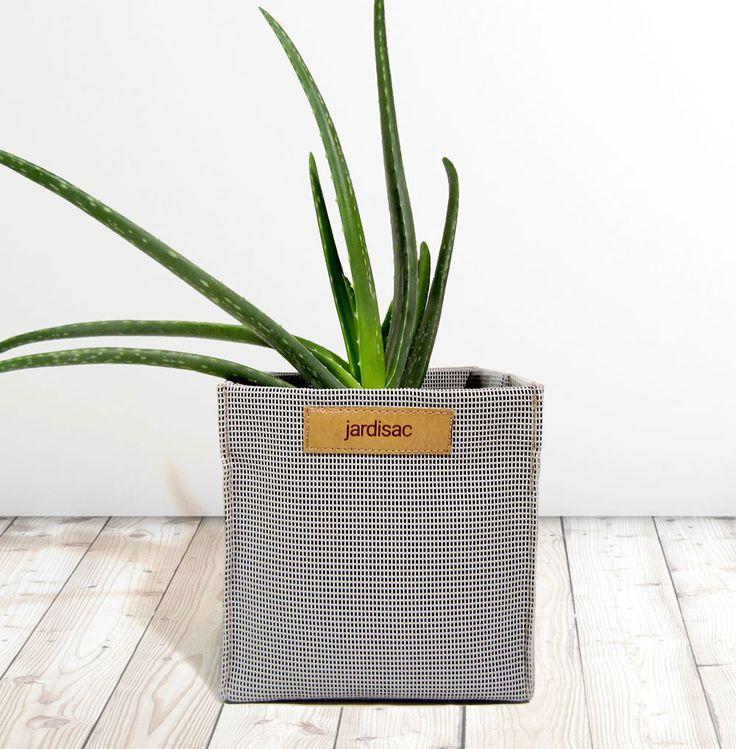 Planters box square grow flowers