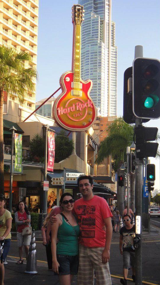 Nov 2011 - Hard Rock café, Gold Coast