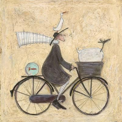 On the road again by Sam Toft
