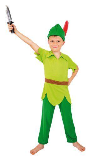 Cesar – F038-001 – Déguisement – Peter Pan Sachet – 3/5 Ans: Description du produit: déguisement comprenant combinaison et chapeau Contenu…