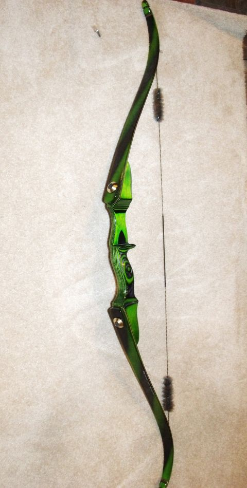 TD Beowulf Recurve - White Wolf Customs