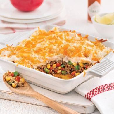 Gratin de boeuf mexicain - Recettes - Cuisine et nutrition - Pratico Pratique