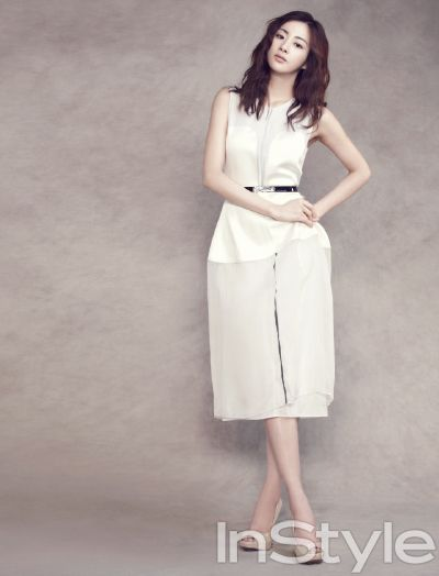 Kang So-ra // InStyle Korea // July 2013