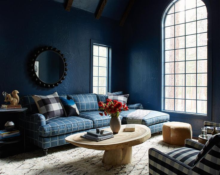 blue living room, by Consort