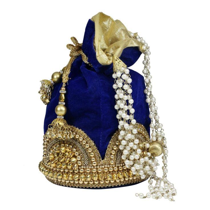 sadaf-s-majestic-blue-potli-bag