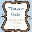 Thunder Cake Common Core Unit Plan: includes activities, graphic organizers, writing craftivity, and assessment!  Houghton-Mifflin has some great s...