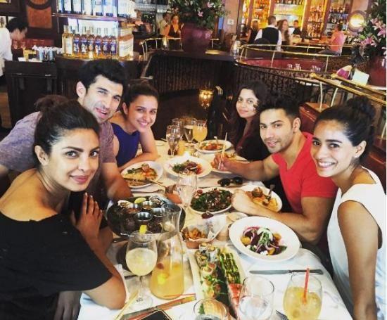 Photos,Priyanka Chopra,NEW YORK,aditya roy kapur,parineeti chopra,Varun…