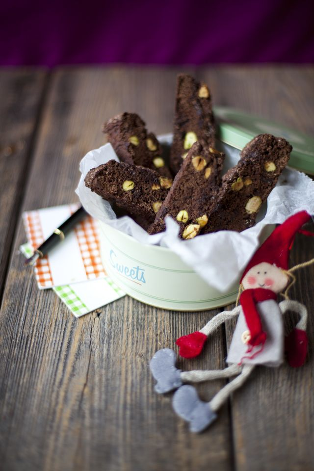 Homemade Chocolate Biscotti | DonalSkehan.com, Delicious homemade treat, perfect with a coffee.