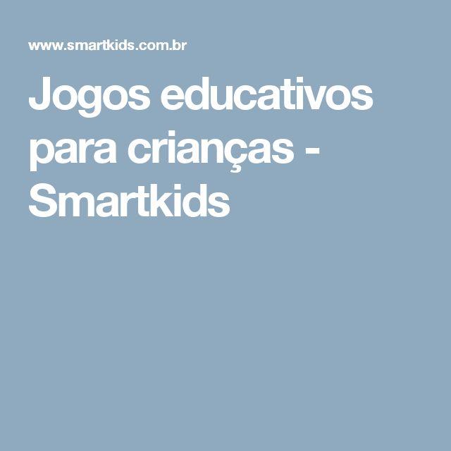 Jogos educativos para crianças - Smartkids