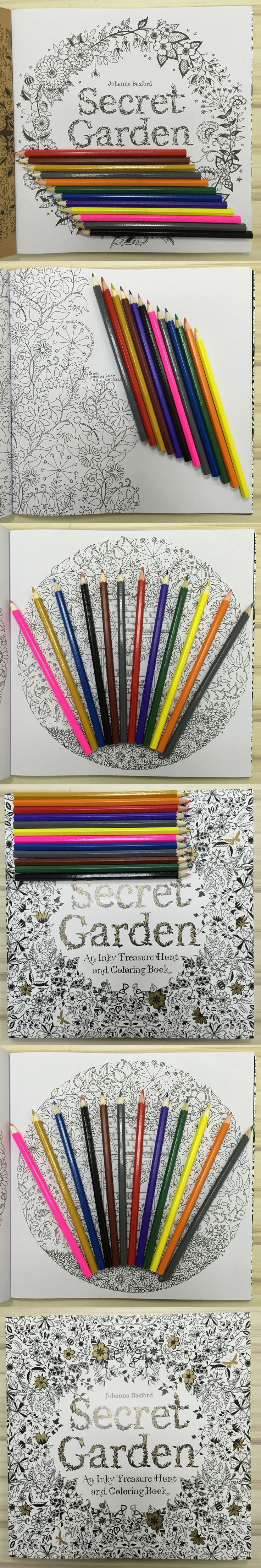 New Secret Garden Hand Drawn Book 24 The Root Color Pencil Adult Coloring