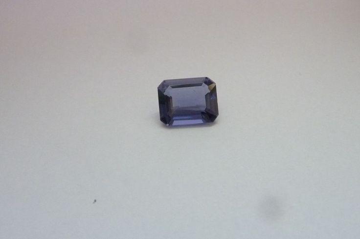 2.37 Cts Octagon Shape Blue Color 100% Natural Iolite Loose Gemstone ~ 10*8 MM #KinuBabaGems