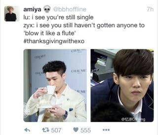 #Thanksgivingwithexo