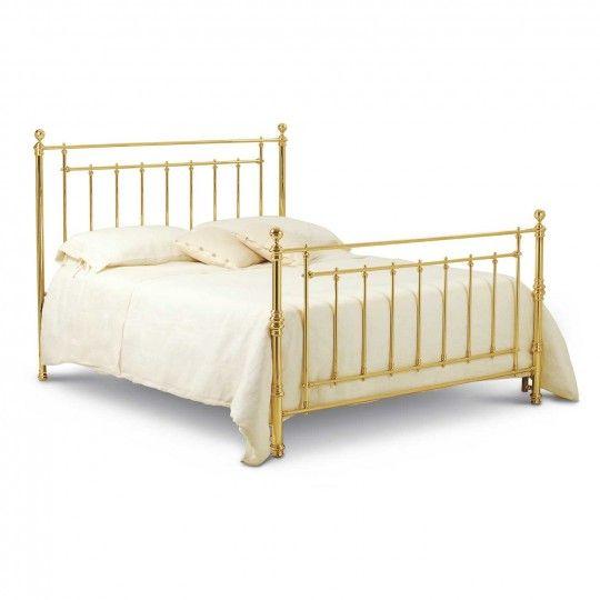 die besten 25+ metallbetten ideen auf pinterest | metallbettrahmen ... - Schlafzimmer Mit Metallbett