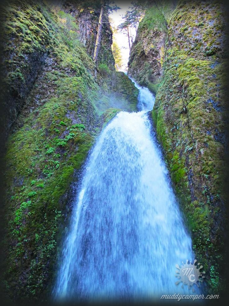 Wahkeena Falls Columbia River Gorge Oregon