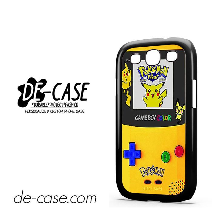 Gameboy Color Pokemon Edition DEAL-4596 Samsung Phonecase Cover For Samsung Galaxy S3 / S3 Mini