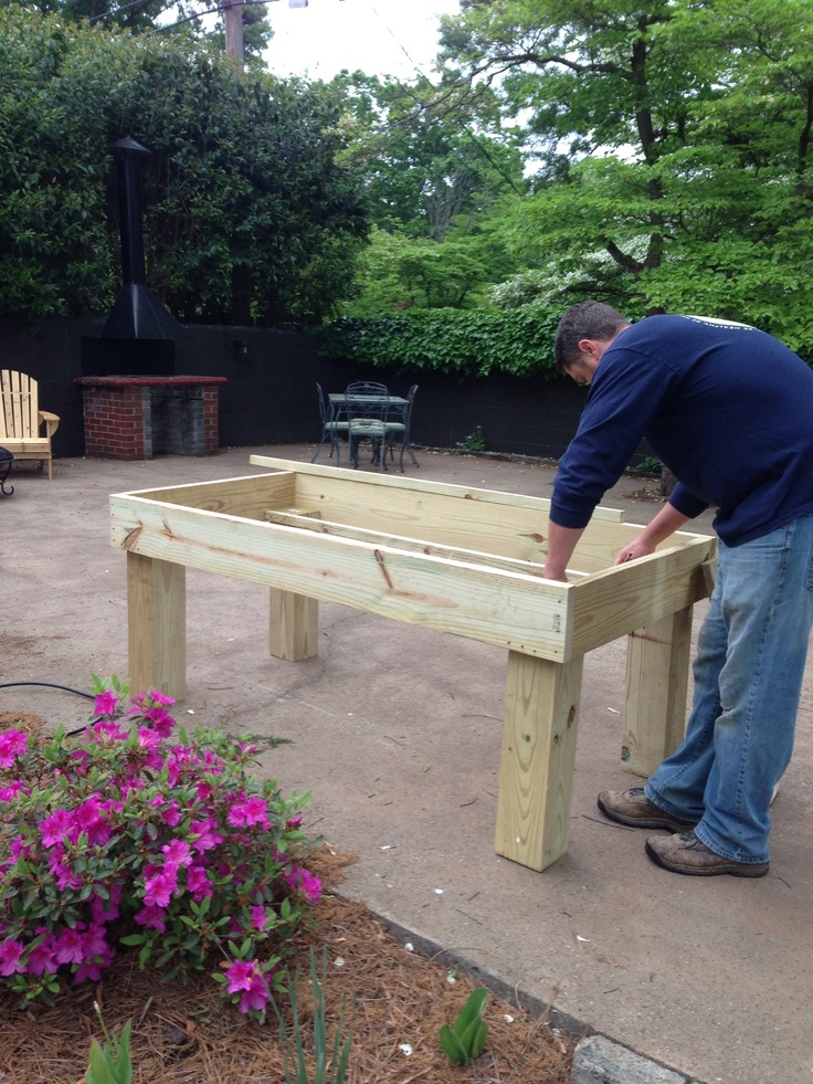 Raised Garden Table Plans Woodworking Projects Amp Plans
