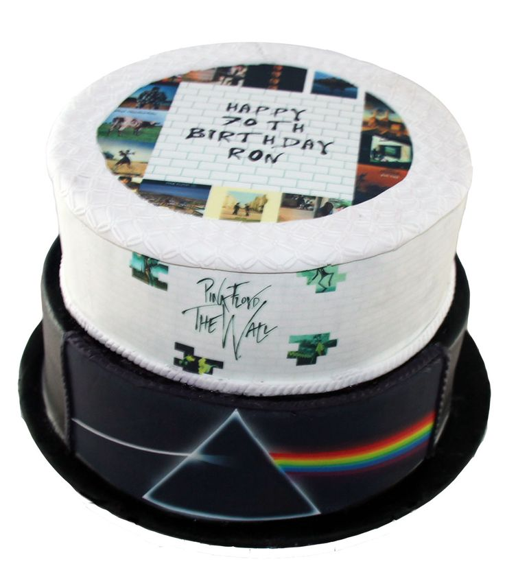 Pink Floyd Cake Like us at www.facebook.com/melianndesigns