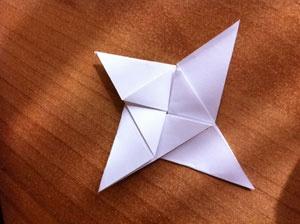 DIY Origami Ninja Stars