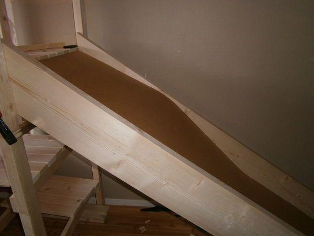 Diy Indoor Slide Indoor Slides Kids Slide Kids Bed With Slide