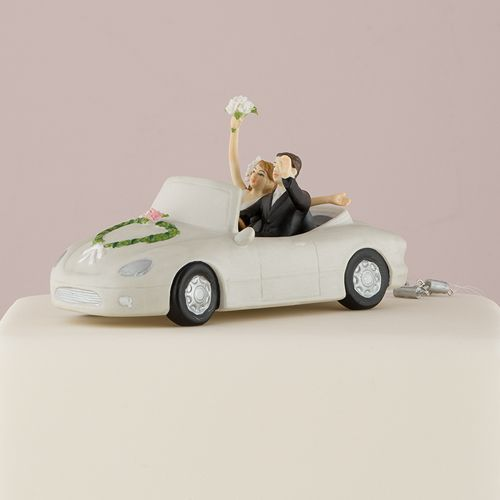 Taarttopper Auto Just Married