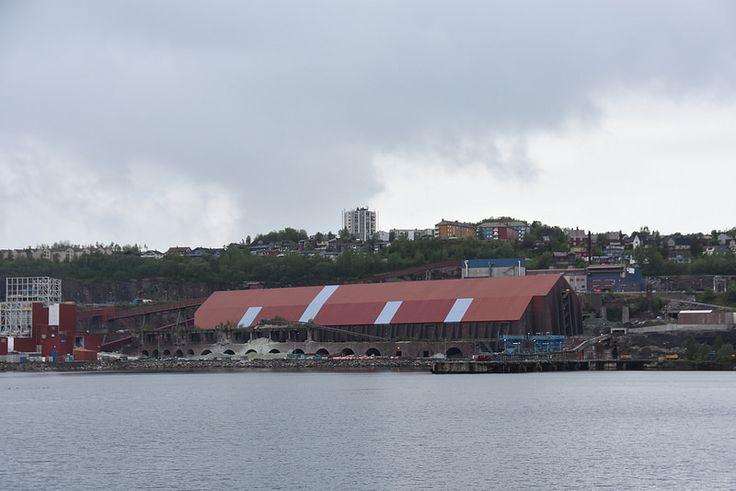 Narvik.Le terminal du minerai de fer.2   by Antoine 49