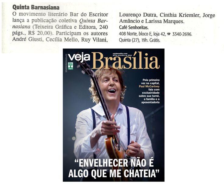 Poeta Hei de Ser®: Quinta Barnasiana voando pelo Brasil...