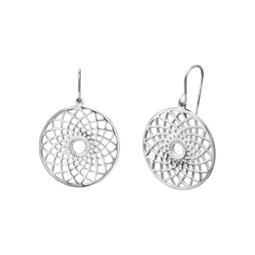 Dreamcatcher earrings $96.00 Click to open. Safe website and Worldwide elivery. Earrings silver made of rhodium plated 925 sterling silver. Rhodium plating is an excellent surface finishing, it enhances the wearing comfort