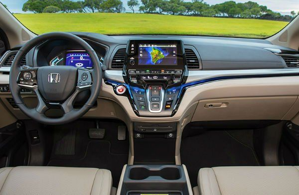2019 Honda Odyssey Interior Honda Odyssey Best Family Cars