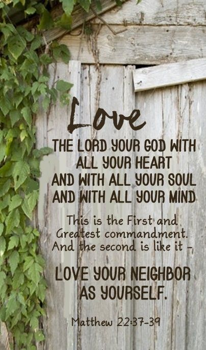 MATTHEW 22:37-39 Personal Developmental Quotes #Quote