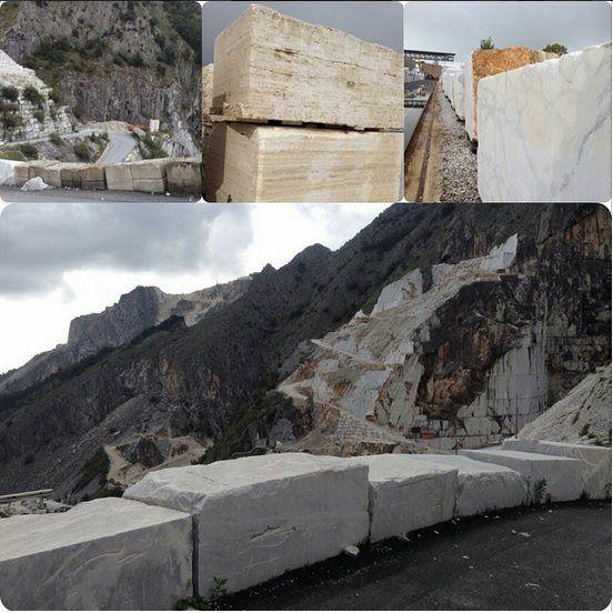 Um domingo recheado de alegria a todos. Aqui, flashes de nossa visita realizada no final da tarde de sábado às montanhas de Carrara. Em breve, muitas novidades em nosso showroom. #grutamarmoresegranitos #granite #marble #carrara #instastone #Italy # instaItaly #stone — em Carrara.