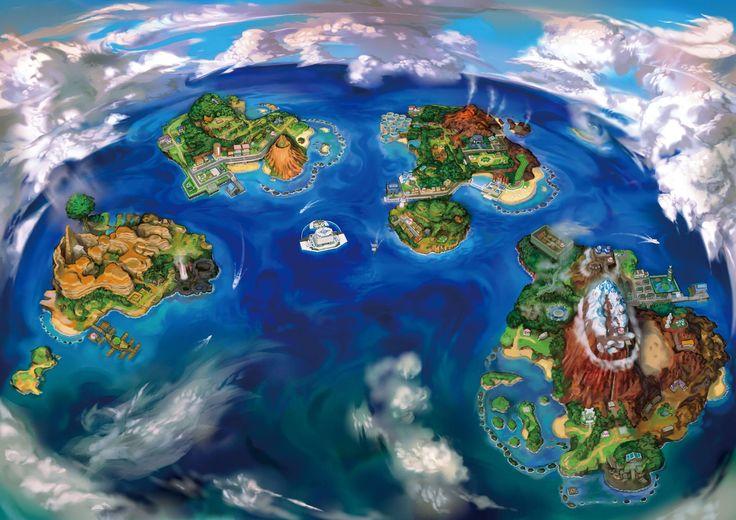 Pokemon Alola Region [2048x1447]