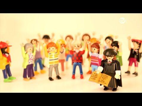 Geschichte mit dem Playmobil-Luther: Reformation einfach erklärt - YouTube