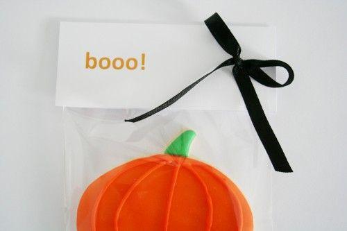 Boo! Ciasteczka na halloween - dynia. www.cukierniapianka.pl