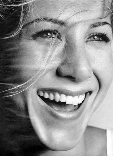 Jennifer Aniston - funny and beautiful.