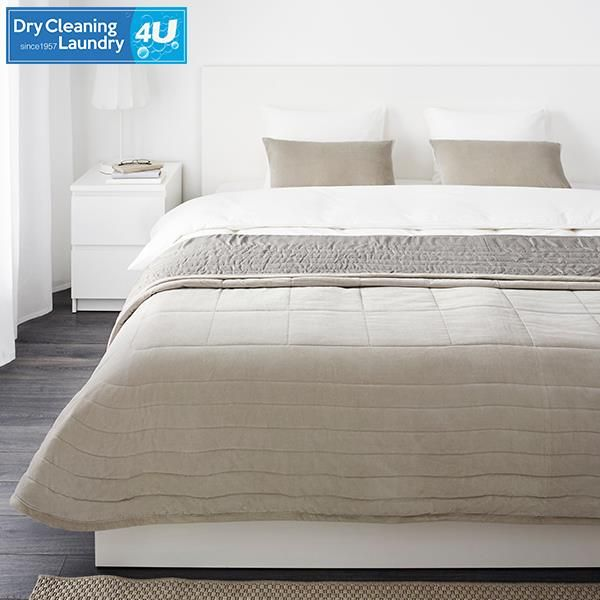 Our service not only includes the cleaning of clothing, but also: bedspreads, blankets, comforters, duvets and covers, pillow slips, pillow shams, as well as sheets, sleeping bags, tablecloths and more.  Link: http://ow.ly/PvRi301tSU5
