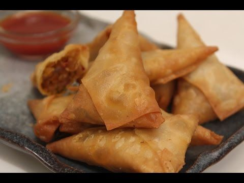 how to make sweet corn samosa by sanjeev kapoor