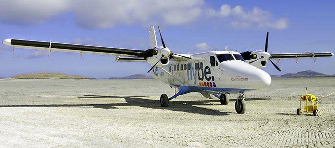 Flüge nach Barra und Benbecula