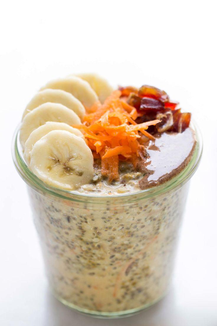 High Protein Carrot Cake Chia Pudding - Simply Quinoa
