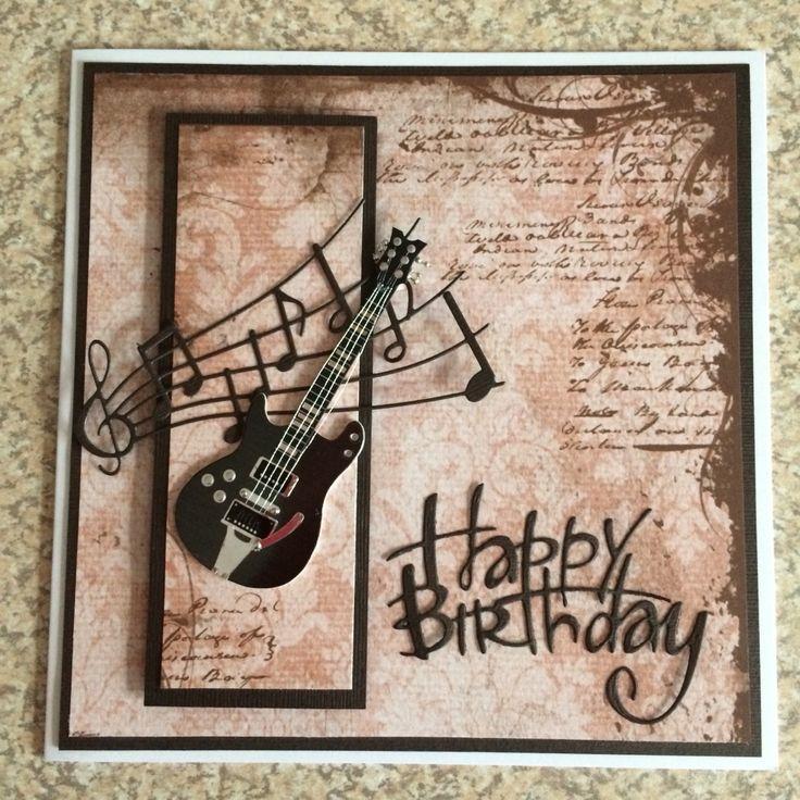 Гитара открытка с днем рождения, полтора года мальчику