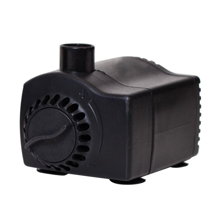 Pond Boss 170 GPH Fountain Pump with Low Water Auto Shut-Off Feature - PF185AS