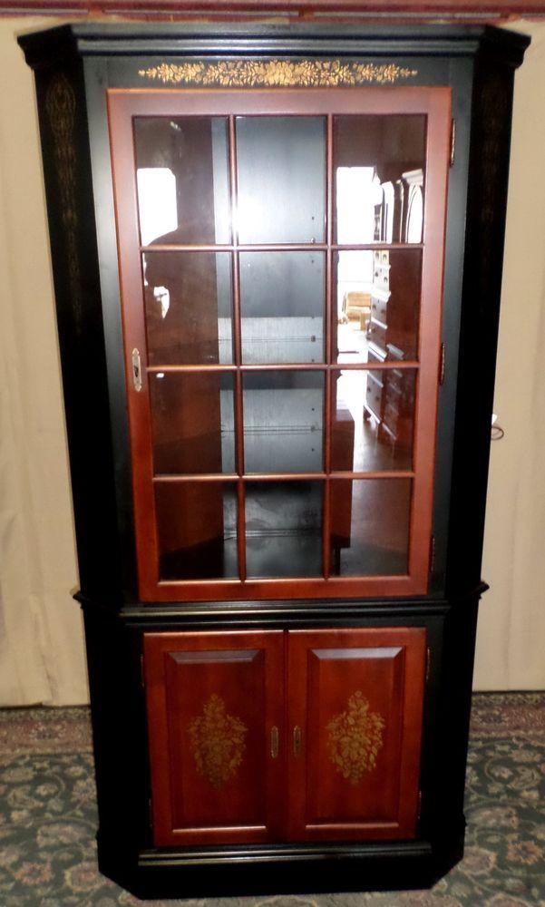 Hitchcock Milford Cabinet Corner Cabinet Riverton