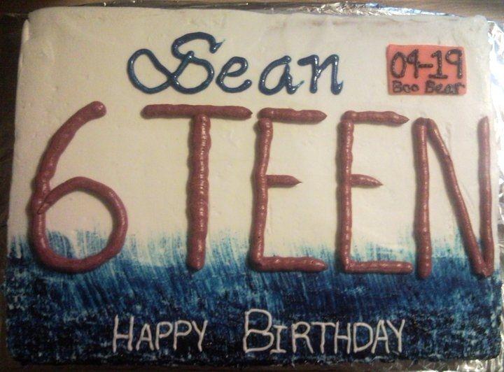 16th Birthday Cake Boys
