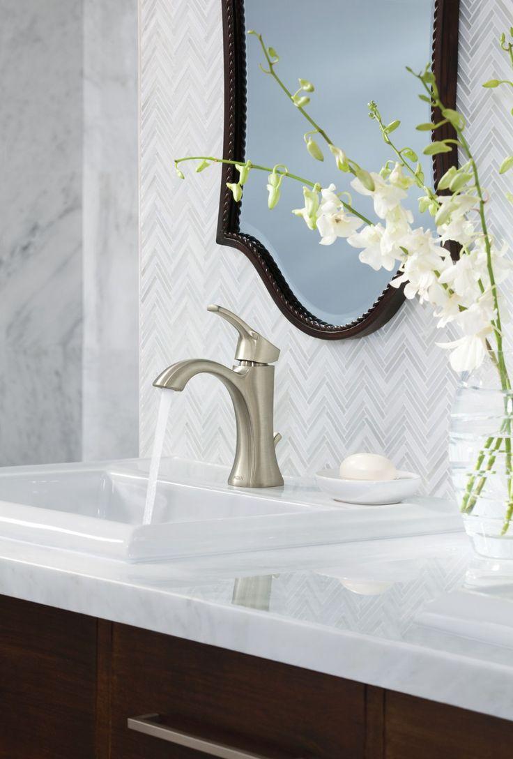 Brushed Nickel Bathroom Faucet Ideas