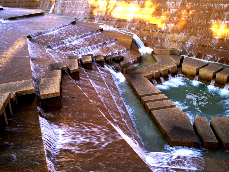 The Water Gardens in Ft Worth, TX